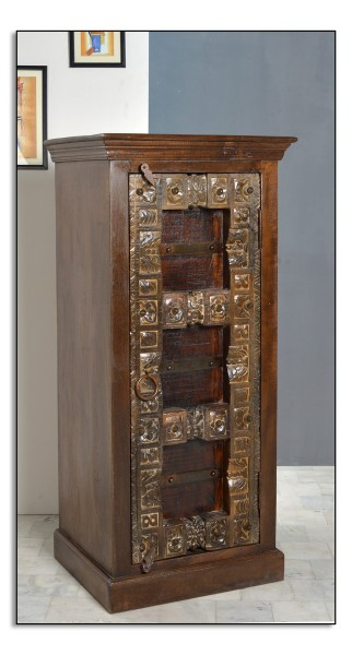 SIT Möbel Almirah Kommode aus recyceltes Altholz braun   B 55 cm