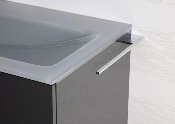 Design Handtuchhalter Chrom für Badmöbel