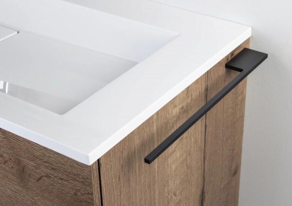 Design Handtuchhalter Anthrazit / Schwarz für Badmöbel