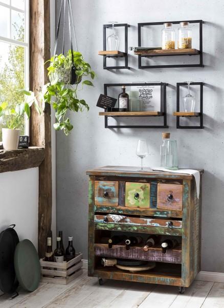 Sit Möbel Küchenwagen design Riverboat bunt lackiert
