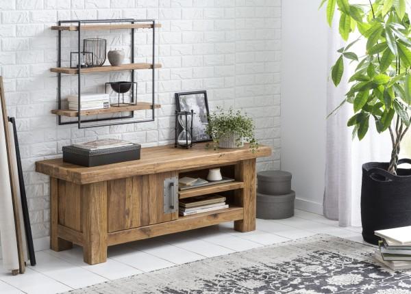 SIT Möbel Lowboard 130 cm Coral recyceltes Teak Holz
