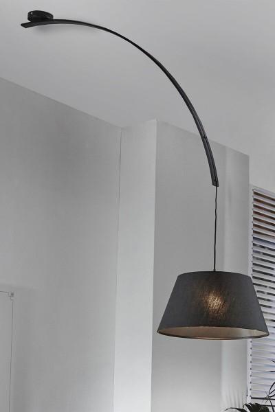 Hängeleuchte 1- flammige 45 x 125 cm schwarz A+