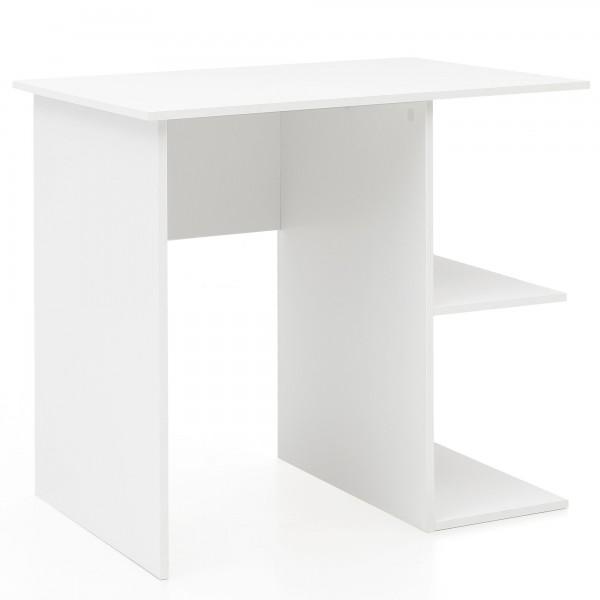 WOHNLING Computertisch WL5.757 Weiß Schreibtisch 82 x 60 x 76 cm   Kleiner Laptop PC Tisch