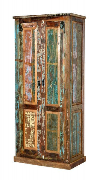 Sit Möbel RIVERBOAT Garderoben Kleiderschrank Altholz 80x180x45 cm, 09164-98