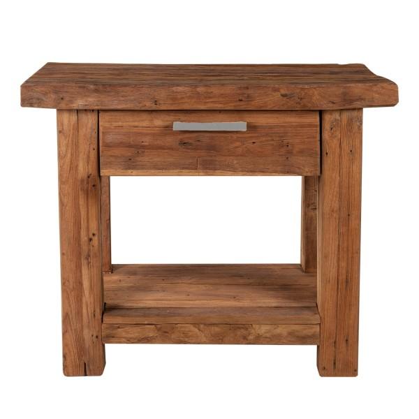 Sit Möbel CORAL Telefontisch Teak | L 90 x B 45 x H 78 cm | natur | 04484-01