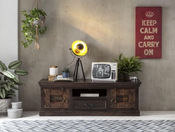 Sit Möbel ALMIRAH Lowboard recyceltes Altholz 150 cm braun