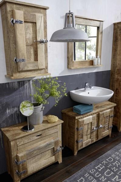 SIT Möbel Wand-Spiegel Frigo mit Ablagefläche | B 70 x T 9 x H 69 cm
