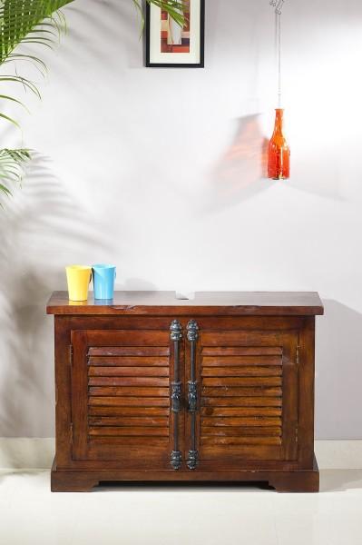 Waschbecken Unterschrank Shutter Bad 88x30x60 cm